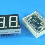 "0.56"" Common Cathode 2Bit Digital Tube 7 segment Red LED Display"