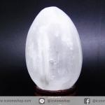 ▽เซเลไนต์ Selenite ทรงไข่ (151g)