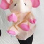 ตุ๊กตาหุ่นมือสอนคำศัพท์-ช้าง