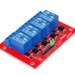 Arduino Relay Module 5V 4 Channel High Trigger 250V/10A
