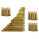 Bolt Pillars M3 10mm เสาโบ๊ททองเหลือง ขนาด 3mm ยาว 10mm จำนวน 5 ชิ้น
