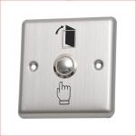 Exit Switch ปุ่มกดออกประตูคีย์การ์ด สแตนเลส ขนาด 91mm*91mm
