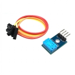 DHT12 Sensor เซนเซอร์ความชื้นและอุณหภูมิ แบบ I2C พร้อม PCB แถมสายไฟ