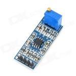 โมดูลขยายสัญญาณ 100 เท่า 100 times LM358 gain signal amplification module operational amplifier LM358 module module