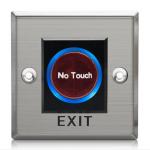 Exit Switch ปุ่มออกประตูคีย์การ์ด สแตนเลส แบบเหนี่ยวนำ 86mm*86mm