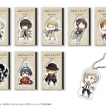 "Anime ""Bungo Stray Dogs"" - Trading Acrylic Keychain 8Pack BOX(Pre-order)"