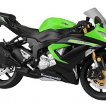 1/12 Complete Motorcycle Model Kawasaki Ninja ZX-6R 2014 (Lime Green)(Released)