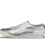 รองเท้าผ้าใบผู้ชาย Onitsuka Tiger รุ่น Mexico 66 D6G1L 9393 รุ่นพิเศษ สีเงินคาดเงิน