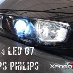หลอดไฟหน้า LED- รุ่นG7 แอลอีดีฟิลลิปคุณภาพสูง