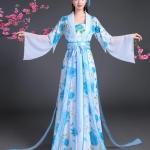 唐朝宫廷汉服公主 Tang Dynasty & Han Dynasty Chinese Princess Costume ชุดเสื้อกระโปรงเจ้าหญิงราชวงศ์ถังและราชวงศ์ฮั่น