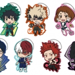 My Hero Academia - Toji Colle Rubber Mascot: Hero Omamori 7Pack BOX(Pre-order)