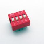 DIP switch ดิฟสวิทช์ 4P 2.54 mm