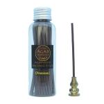 ชุดธูปแท่งญี่ปุ่น ไม้หอม ไม้กฤษณา แท้ Agarwood Incense Stick (Premium Grade) 50stick + ที่ปักธูป ที่จุดธูป ที่วางธูป 2 In 1 ทำจากทองเหลืองแท้ ทนทาน ไม่ลอก ไม่ดำ ไม่เป็นสนิม