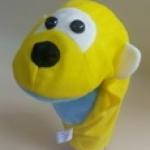 ตุ๊กตาหุ่นมือผ้าแบบมีเสียง-ลิง