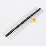 ก้างปลาแบบยาว2ด้าน 2.54mm 1* 40pin Single row needle lengthened Single Pin ความยาวทั้งหมด 20mm