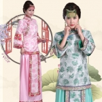 清朝古装服装民国女装服 Qing Dynasty Women's Costumes/ China Republic Women's Costumes