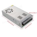 Switching Power supply แหล่งจ่ายไฟ 24V 15A พร้อมพัดลมระบายความร้อน