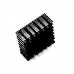 แผ่นระบายความร้อนพร้อมแผ่นกาว Mini Heatsink ขนาด28*28*11mm