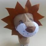 ตุ๊กตาหุ่นมือผ้าแบบมีเสียง-สิงโต
