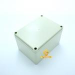กล่องอเนกประสงค์ กันน้ำ สีเทา 140*105*87mm