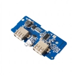 18650 battery 3.7V 5V2A step-up module Rechargeable 2X USB