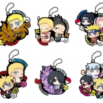 Rubber Mascot Buddy Colle - BORUTO -NARUTO THE MOVIE- Seichou shita Ore-tachi Dattebayo Hen 6Pack BOX(Pre-order)