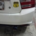 Honda City ใส่ปลายท่อ Js ปากไทเทเนียม