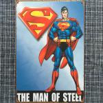 MAN OF STEEL **H11.**