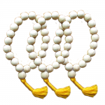 AgarHarvest สร้อยข้อมือ ไม้หอม ไม้กฤษณา แท้ 20 เม็ด Pure Fragrance Agarwood Bracelet 20 beads ขนาด 3 เส้น (12 mm)