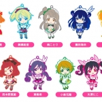 Nendoroid Plus Trading Rubber Strap - Love Live! 04 9Pack BOX(Pre-order)