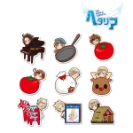 Hetalia The World Twinkle - Trading Acrylic Magnet (Hyokkori Motif ver.2) 9Pack BOX(Pre-order)