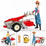 PLAMAX MF-21 minimum factory Minori with Honda Tiller F90 1/20 Plastic Model(Pre-order)