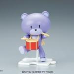 HGPG Gundam Build Fighters 1/144 Petit'GGuy Rapapan Purple & Drum Plastic Model(Pre-order)