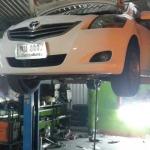 Toyota Vios ใส่ชุดท่อ Js fx-pro คู่หม้อพักกลางสูตร