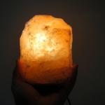 [โปรโมชั่น]โคมไฟหินเกลือภูเขาหิมาลัย ทรงธรรมชาติ (1-2Kg)