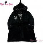 เสื้อคลุมอาบน้ำ เสื้อคลุมชุดนอน ฮอกวอตส์ สีดำ : งานหลุดQC UK