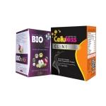 BIO Detox ล้างและขับสารพิษ หุ่นกระชับ ลดสัดส่วน ลดน้ำหนัก ลดความอ้วน ลดไขมัน ขาวใส มีออร่า ลด 5 กิโลใน 1 เดือน 1 กล่อง + Celluless Cellulite อาหารเสริมเร่ง เผาผลาญไขมัน ขจัดเซลล์ลูไลท์ ลดความอ้วน ลดน้ำหนัก 1 กล่อง