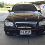 ฟรีดาวน์ ผ่อน 11432x72 Benz c180 Kompressor ปี 2006 สีดำ ติดแก๊ส LPG