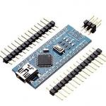 Arduino Nano 3.0 Mini USB รุ่นใหม่ใช้ชิฟ CH340G แบบยังไม่บัดกรีขา (ไม่มีสาย Mini USB)