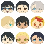 Yuri on Ice - Omanjuu Niginigi Mascot 9Pack BOX(Pre-order)