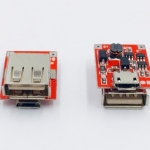 Arduino ESP8266 NodeMCU ESP32 Powerbank โมดูลแหล่งจ่ายไฟ ชาร์จไฟได้ในตัว