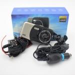 กล้องติดรถยนต์ หน้าหลัง Full HD รุ่นX600
