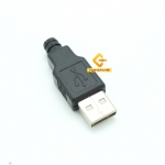USB 2.0 Type A Plug 4 Pin Male