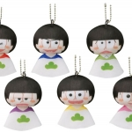 Koedarize Drop Teruyubi Mascot - Osomatsu-san 6Pack BOX(Pre-order)