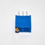 ตัวต้านทานปรับค่าได้ 50K แบบละเอียดหมุน 25 รอบ Trimpot 50 K 25 Turns 3296 Series Potentiometer Valiable Resistor