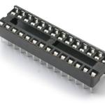 ซ็อคเก็ต socket 28 Pin DIP SIP IC Sockets Adaptor Solder Type Narrow