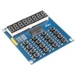 TM1638 MCU 8 Bit LED Digital Tube Keyboard Module Scan and Display Module