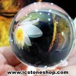 ดวงแก้วหินควอตส์ใสแท้ (จุยเจีย) ขนาด 7 เซนติเมตร เกรด A