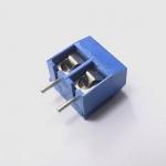 Screw Terminal Block 2 pin Connector 5mm Pitch คอนเน็คเตอร์แบบสกรูหมุน 2 ขา สีน้ำเงิน ระยะห่างระหว่างขา 5 มม. จำนวน 1 ชิ้น