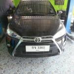 All New Toyota Yaris ใส่ชุดท่อJs fx-pro คู่หม้อพักกลางสูตร